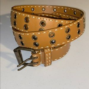 Accessories - tan bonded leather  belt
